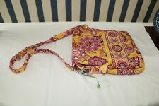 Vera Bradley Bali Gold Mailbag Mail Bag large New NWT purse retail $68