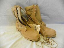 BELLEVILLE Hot Weather Type II Combat Boots 12.5 N Desert Tan Panama Sole New