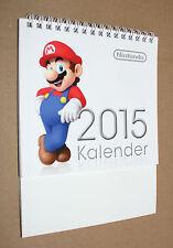 Nintendo Games mario Zelda Yoshi etc Promo German Calendar calendario 2015
