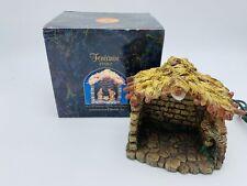 "Vintage Fontanini Stable Rare 2-1/2"" Miniature Heirloom Nativity Christmas Roman"