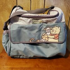 "DISNEY Classic Winnie The Pooh ""Days Of Honey"" Diaper Bag (HAS STAIN INSIDE)"