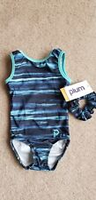 New with Tags! Plum Practicewear Girls Gymnastics Leotard Child Small