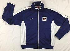 Men's XXL NIKE USA Hockey Team Jacket Coat IIHF Winter Olympics Red White Blue