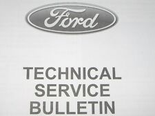 1999-2000 Ford Technical Service Bulletins