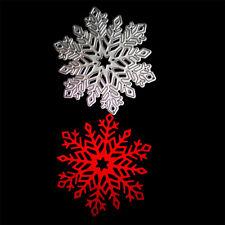 Snowflake Metal Cutting Dies Stencil For DIY Scrapbooking Album Cards Decor  SP
