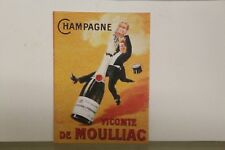 DOLLS HOUSE ( Retro  Metal Sign =  CHAMPAGNE
