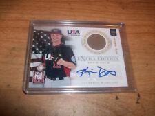 2012 USA National Team Baseball Kevin Davis Jersey Auto Card 64/249