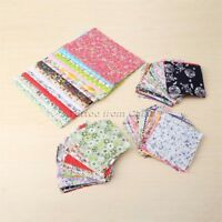15/50/60/100Pcs No Repeat Design Cotton Fabric Patchwork Sewing Quilting 2 Sizes