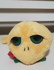 RUSS BERRIE SHELLY TURTLE PLUSH TOY! HEART AND ROSE SOFT TOY ABOUT 22CM LONG!