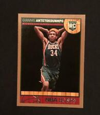 Giannis Antetokounmpo Rookie 2013-14 Hoops GOLD #275,SUPERSTAR RC. THATS ON RISE
