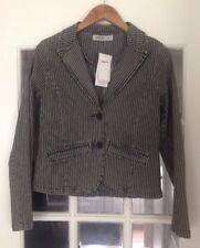 NEW Nikita Stripped, Cotton & Elastane Jacket, Size M (10-12)