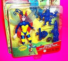 """Earthworm Jim """"Princess What'S Her Name"""" Action Figure w Runt Zurb Insectoid Gun"""