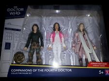 DOCTOR WHO COMPANIONS OF THE FOURTH DOCTOR FIGURE SET