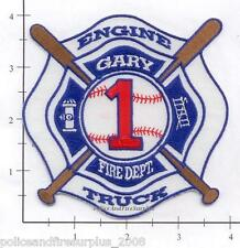 Indiana - Gary Engine 1 Ladder 1 IN Fire Dept Fire Patch - Station 1 - Baseball