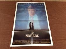 1984 The Natural Original Movie House Full Sheet Poster