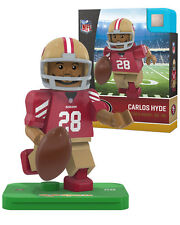 CARLOS HYDE #28 SAN FRANCISCO 49ERS OYO MINIFIGURE BRAND NEW FREE SHIPPING