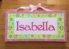 Isabella Sign for Children's Room