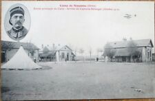 Airplane, Captaine Bellanger, Camp de Sissonne 1910 French Aviation Postcard