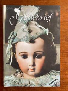 GILDEBRIEF MAGAZINE ANTIQUE DOLL DRESS PATTERNS VOLUME 24 SUMMER  2007