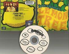 FOOL'S GARDEN Lemon tree / take me 2TRX LIMITED EDITION USA CD Single 1995 MINT