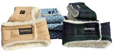 Washable Dog Belly Band - Urine / Scent Marking - Supersoft, cozy sherpa fleece