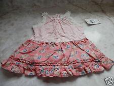 Baby Girl 3 Months Ralph Lauren Striped Floral Sleeveless Summer Dress LOVELY!