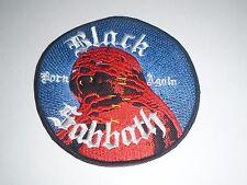 BLACK SABBATH BORN AGAIN EMBROIDERED PATCH