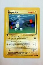 Pokemon Karte - Magnetilo 53/102 1. Edition - Base Set - Deutsch