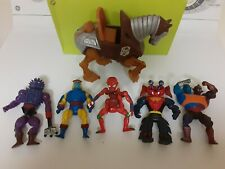 Lot (6) Vintage He Man Masters of the Universe MOTU Figures Lot Mattel 80s PARTS
