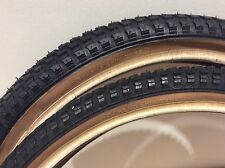 "Cheng Shin Snake Belly Tyre 20"" x 1.75"" Thin/Thin PAIR - Old School BMX"