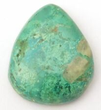 Boulder Turquoise Smooth Handmade Polished Cabochon Pear 31x26x7.5 mm 48.70 Ct