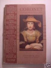 CORONET December 1936 NETSUKE BERTRAND RUSSELL GEORGE ANTHEIL WILLLIAM SAROYAN +