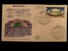 MONACO PREMIER JOUR FDC YVERT  1370     FONTVIEILLE       2F     1983