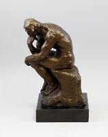 9937430-dss Bronce Plástico Escultura por Rodin el Pensador 15x15x30cm