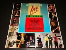 U2 Live in Concert Promo Vinyl Record Live For Ireland The Pogues Elvis Costello