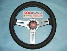 FIAT 500 F/L/R VOLANTE SPORTIVO IN PELLE LUISI SHARAV 31 mm + CLACSON 3D FIAT