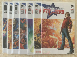 AMERICA'S GOT POWERS #1-7 - complete mini by Jonathan Ross & Bryan Hitch (Image)
