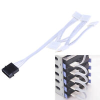IDE Molex 4Pin to SATA Adapter 1 to 5 Splitter Hard Drive Power Extension CaTPA