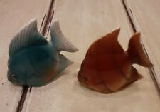 Angel Fish Vintage Japan Ceramic Salt And Pepper Shakers