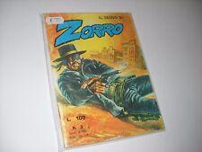 IL SEGNO DI ZORRO N. 3 CERRETTI EDITORE 1973 No Diabolik !!!