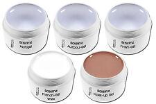 UV Gel Spar Set Haftgel Aufbaugel Glanzgel Frenchgel Make-Up Sparset 1-Phasen