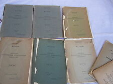 Seismology Imperial Earthquake Investigation Japan Lot Natural Disaster 1908