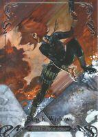 2018 Upper Deck Marvel Masterpieces Base Set Card #65 Black Widow /999