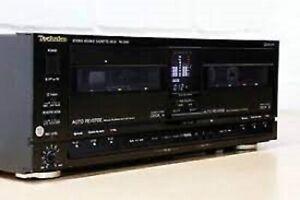 Technics RS-X990 Stereo Double Cassette Deck - 360 Series - Hi Fi Separate