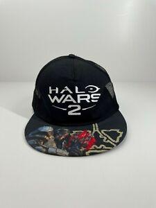 HALO Wars 2 mesh trucker cap hat adjustable one size fits most Microsoft black