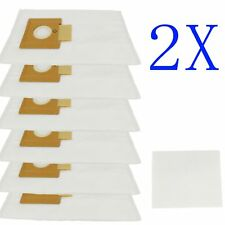 12 x Synthetic Vacuum Cleaner Bags For Hoover SMART R1 4410 4430 5001 H4012