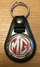 MG Logo Medallion Keyring, Brand New