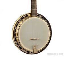 Recording King RKS-06 Starlight Sunbeam Yellow Resonator Banjo - 24 Bracket! New