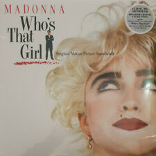 Madonna Who'S That Girl (Vinyl Crystal Clear) Vinile LP 180 Grammi Colorato