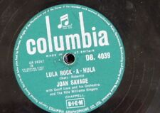 78rpm JOAN SAVAGE lula rock a hula / shake me i rattle